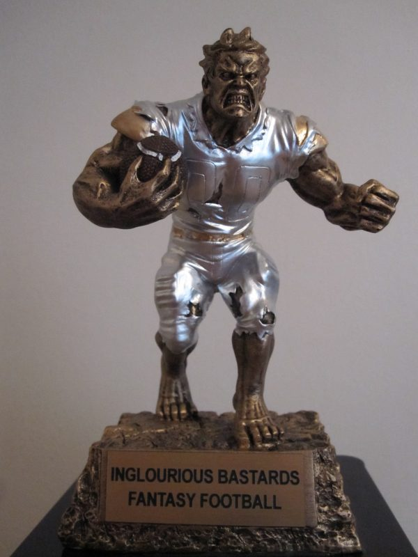 Inglourious Bastards Fantasy Football Trophy