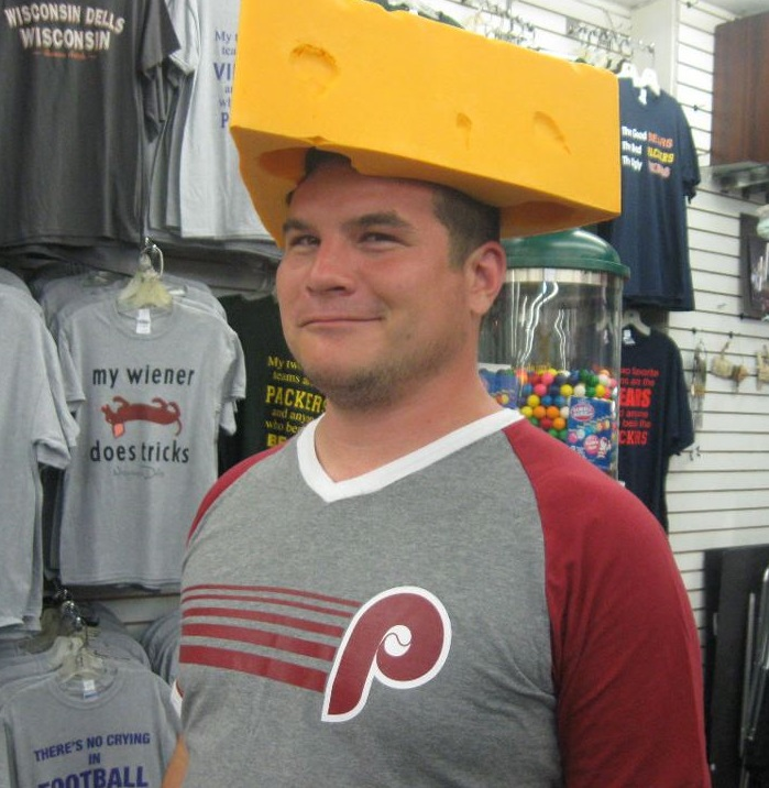 whitty dells cheese head